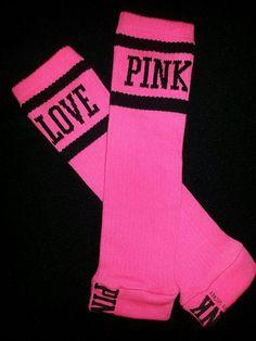 Baby Leggings/Warmers Hot Pink Victoria's Secret by AriellesRunway, $12.50