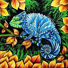 Azulão, o camaleão. Tutorial em breve no meu canal: YouTube.com/DKPM1983…