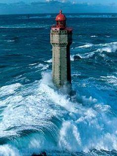 La Jument Lighthouse, France