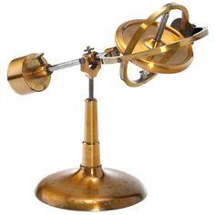 "Physical Demonstration ""Gyroscope"" Model, c. 1880 : Lot 141"