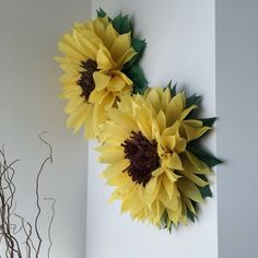 ✻ All flowers are made to order. Please see my shop announcement for current production times. Xpresspost requires additional postage.  ✻-----✻-----✻-----✻-----✻  You will receive:  ✻ 5 handmade giant tissue paper flowers ✻ Fully assembled but FLAT - no assembly or cutting required ✻ Step-by-step photo instructions make it easy to blossom your flowers ✻ Approximately 1 yard of monofilament per bloom for invisible hanging ✻-----✻-----✻-----✻-----✻  For custom colour packages see link below…