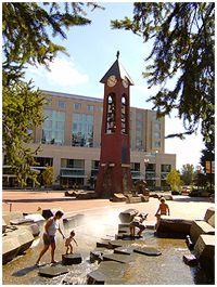 Short Park in downtown Vancouver Washington (WA) near Homes For Sale Vancouver Washington, Downtown Vancouver, Washington State, Oneonta Narrows, Esther Short Park, Pacific Northwest, Senior Pictures, Adventure, City