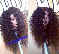 big hair. curly hair. weave. wigs.