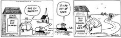 """The Wizard of Id is a daily newspaper comic strip created by American cartoonists Brant Parker and Johnny Hart. Beginning in 1964, the strip follows the antics of a large cast of characters in a shabby medieval kingdom called """"Id"""". From time to time, the king refers to his subjects as """"Idiots"""". (The title is a play on The Wizard of Oz, combined with the Freudian psychological term Id, which represents the instinctive and primal part of the human psyche.)"""