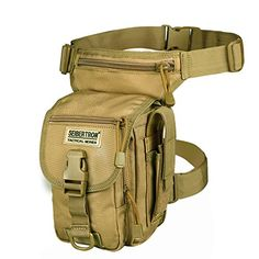 Cheap outdoor bag, Buy Quality bag outdoor Directly from China Suppliers:Seibertron outdoor waterproof Airsoft Tactical Drop Leg Panel Utility Pouch Bag Type Black Cross Over Leg Rig Thermite Versipack Thigh Bag, Hunting Bags, Utility Pouch, Tactical Bag, Hunting Accessories, New Handbags, Pouch Bag, Camping Gear, Motorcycle Camping