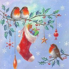 I love vintage Christmas pics! I love vintage Christmas pics! Christmas Bird, Christmas Scenes, Christmas Clipart, Christmas Animals, Vintage Christmas Cards, Retro Christmas, Christmas Printables, Christmas Pictures, Xmas Cards
