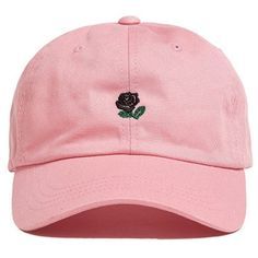 FGSS Unisex Rose Embroidered Adjustable Strapback Dad Hat Baseball Cap... (92 MXN) ❤ liked on Polyvore featuring accessories, hats, extra, rose hat, embroidered baseball hats, embroidery hats, embroidered hats and ball cap hats