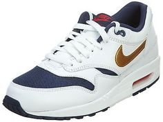 innovative design c99ab 3ed90 Nike Air Max 1 Essential Mens 537383-127 Olympic Gold Running Shoes Size  10.5