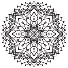 Arte vetorial : Mandala