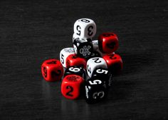 Skull and Crossbones Dice | The Pirate Store    They have another version where the dice are SUPER tiny.
