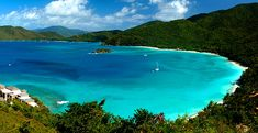 Cinnamon Bay, St. John I believe. Beautiful!