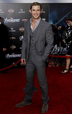 1fdc3dc1bc Chris Hemsworth flashes a smile at  The Avengers  world premiere Photo  Credit  AP Photo Matt Sayles