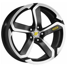 MATT BLACK DIAMOND CUT DOTZ HANZO alloy wheels #vw #bmw #audi #alloy #wheels #rims http://www.turrifftyres.co.uk