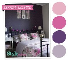Perfect Palette - for more decorating ideas, go to www.housetohome.co.uk/styleathome