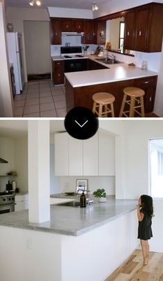 Before & After: A Calgary Kitchen Gets The Minimalist Treatment