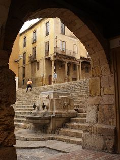 Tarragona, a city located in the south of Catalonia by the Mediterranean. Capital of province of the same name and of the Tarragonès comarca.