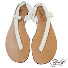 b926a12fb333 Bridget Sandals- White Cutaway ... Now this is one of my fav sandals