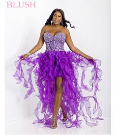 2014 Plus Size Prom Dresses For a Curvy Figure (24 Pictures)...Can I get this for an Ursula cosplay??