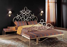 Check more at Source by Decor, Furniture, Escalier Design, Wrought Iron Headboard, Iron Table, Home Decor, Black Headboard, Iron Headboard, Headboard