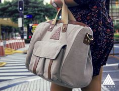Packing up and setting off just got a whole lot more fashionable with the Viajero #DuffleBag by Akaba.