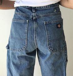 edc382a6b Vintage 90 s Dickies Carpenter Jeans Baggy Boyfriend Fit Denim 32x30