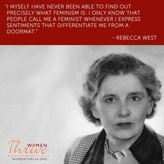 Feminism is not being a doormat