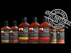 Rufus Teague BBQ Sauces and Rubs, Recipes from AG restaurant and Chef Al...