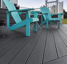 We are loving our easy clean tropical decking this summer! The dark coloured decking looks amazing with contrast colour furniture - a summer must-have! 😍😍  #love #decking #pretty #flooring