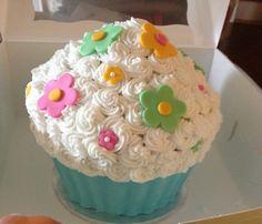 Big Cupcake birthday cake
