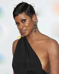 Pixie Hairstyles for Black Women-19
