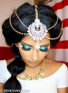 Irene Mahmud: Princess Jasmine ♔ Makeup & Hair Tutorial!
