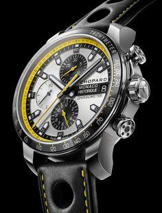 Chopard Grand Prix de Monaco Historique Chrono Watch In Yellow and Black For 2014