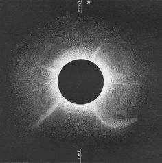 F.A. Oom, Solar Eclipse, July 18, 1860