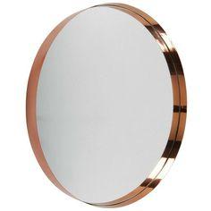 miroir rond en m tal noir d60 m tal noir miroirs et noir. Black Bedroom Furniture Sets. Home Design Ideas