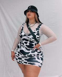 Style Outfits, Indie Outfits, Cute Casual Outfits, Fashion Outfits, Thick Girls Outfits, Curvy Girl Outfits, Plus Size Outfits, Fat Fashion, Curvy Girl Fashion