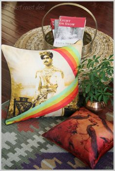#Beautiful #designer #india_circus_cushion_cover that makes your space look attractive