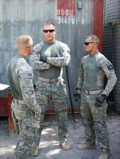 Cute military men