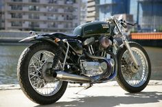 Harley XLH 1200 by Heiwa Motorcycles Exhaust ideas