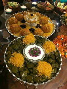 Kofte &dolme,persian food