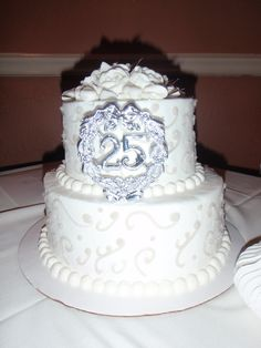 anniversary cakes | 25th wedding anniversary cakes | Reference Wedding Decoration