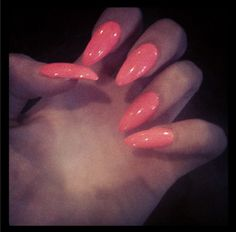 galaxy stiletto nails | stiletto nails #claw nails #pointed nails #pink