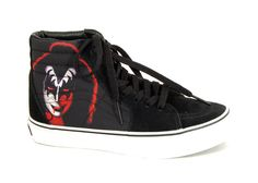 """b58219fcc2 vans VN-0D5G2YL """"CLASSICS - SK8-HI (kiss)"""" - womens -  74.00 (CAD) limited  edition in collaboration with KISS Lace up Sneaker"""