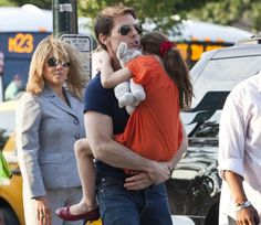 Tom Cruise and Suri at Disney World