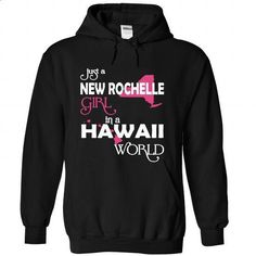 New Rochelle-Hawaii NEW YORK - #oversized hoodie #boyfriend sweatshirt. SIMILAR ITEMS => https://www.sunfrog.com//New-Rochelle-Hawaii-NEW-YORK-7999-Black-Hoodie.html?68278