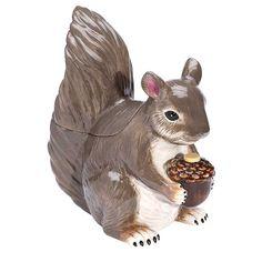 TheWirelessCatalog Squirrel Cookie Jar