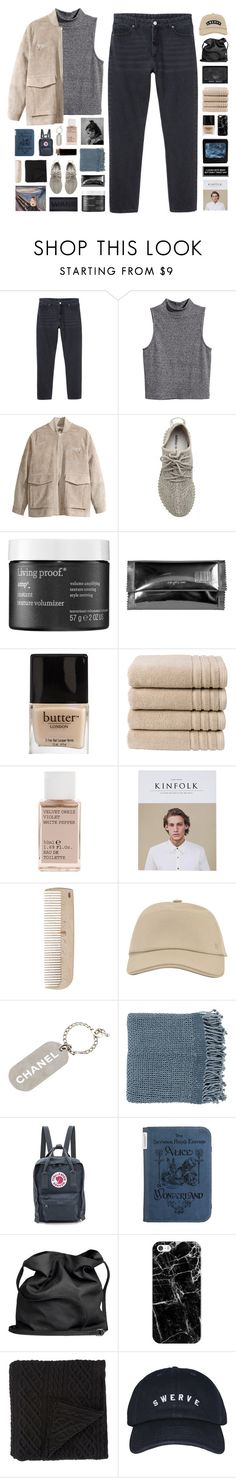 """""""Redding // read d"""" by nanarachel ❤ liked on Polyvore featuring Monki, H&M, adidas Originals, Living Proof, Maison Margiela, Butter London, Christy, Korres, HAY and Hermès"""