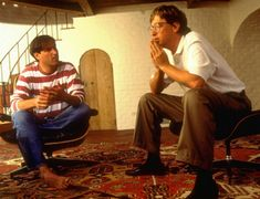 Bill Gates and Steve Jobs - When this photo was captured at a photoshoot for Fortune Magazine in 1981, the two were reportedly close friends, and even went on double dates together!