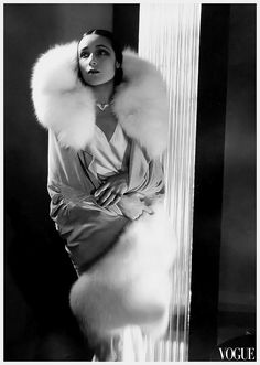 Dolores Del Rio, 1929 Fashion Photos Taken by Edward Steichen During the 1920s and 1930s