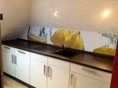 Mural trasero de cocina despues