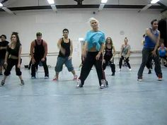 'telephone' lady gaga choreography by Jaz Meakin